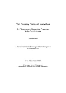 research study about food innovation